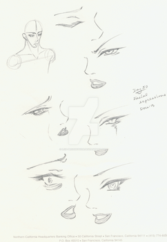 Day 50: Facial Expressions by LCD-Production