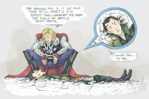 AVENGERS - Spinal Injuries by Murielle