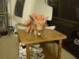 A Paper Vulpix Appears by Gradendine