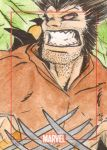Gold Brown Wolverine by Bulun