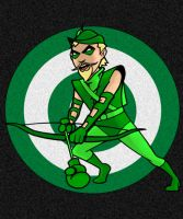 Green Arrow HeroTOON by AlanSchell