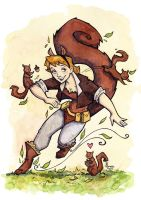Squirrel Girl by CorinneRoberts