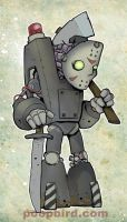 mecha-jason by poopbird