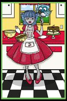 Monster High: Ghoulia's Cake 2 by I-heart-Link