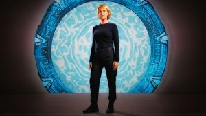 Amanda Tapping Carter in Atlantis by Dave-Daring
