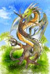 Collab -Dragon on a tree by Sulfura