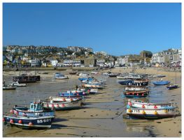 Postcard from St Ives by Bogbrush