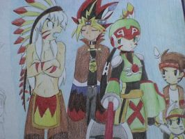 anime team indian sceane by ick25