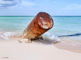 Beach cannon by peterpateman