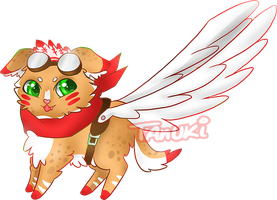 Aviator Puppy Adopt Auction [CLOSED] by TanukiAdopts