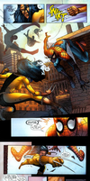 spider-man vs x-23 by 100hypersonic