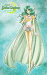 Bishouji Senshi Sailor Moon-Cosmos Sailor Neptune by SlumberPoppy