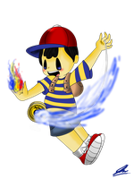 Ness ( Coloured ) by Ask-Ninten