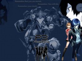 Persona 3 Wallpaper by LyingDutchman