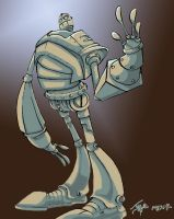 Stupido Jal's Iron Giant by LightBombMike