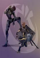 Six and Joram by Elle-H
