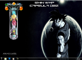 skin  wmp   capsula broly by army13581