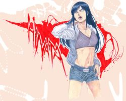 Naruto Shippuden Hinata Road To Ninja by Nick-Ian
