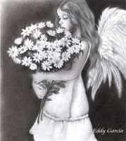 Angel de las flores by Arteddy