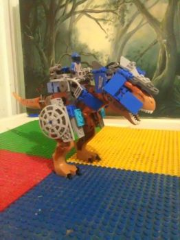 Lego ridable T-Rex  by Blueart14