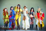 Steampunk X-Men Girls by MaiseDesigns