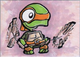 Little Michaelangelo ACEO by CraigMichaelScott