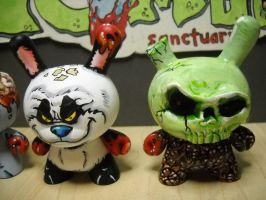 panda and gravedigger by anthonyDeVito