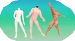 MMD Male bases by MMD3DCGParts