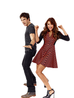 Nina Dobrev and Ian Somerhalder Png [Render] by thisisdahlia
