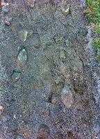 fooT-priNts oN a gRavel roAd by mudyfrog