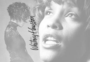 Whitney Houston by GerryPhantom