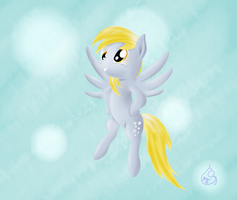 Pony Art Challenge: Day 4, Derpy by Silverwindpegasus
