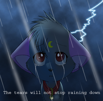 If She Cries That First Tear.. by Naoki-Wolf