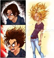 Turning Into a Super Saiyan by Memorabilia-Studios