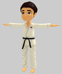 Karate Kid by sanderndreca