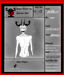 D.A.N Diablus The White King Application by BlackWolfHumanoid