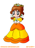 Collab: Princess Daisy by Nintooner