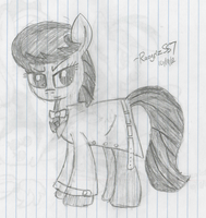 Octavia in a Trench Coat by RazgrizS57