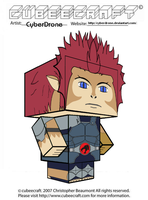Cubeecraft - Lion-O '2011' by CyberDrone