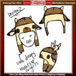 Reindeer Hat Entry 2 by step-toe