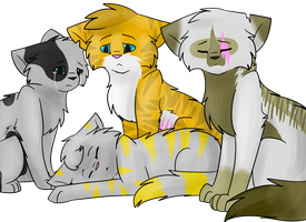 SkyClan Assignment 6: Thistlefang by bearhugbooyah