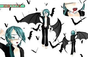 MOTHE Entry: Bad Apple-Sadistic Vampire Mikuo by scarletrose101