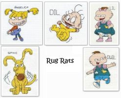 Rugrats Cross Stitch by Krissay20