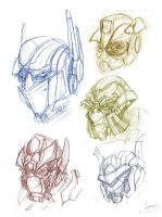 Autobot head's rough skech by zgul-osr1113