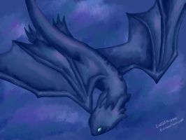 Toothless by LugiaLuna