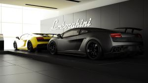 Lamborghini Showroom by DutaAV