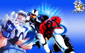 Wallpaper Eyeshield 21 Shin by Furukita