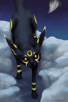 Eeveelutions - Umbreon by Evelar
