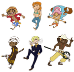 Strawhat charms: 1 by Roskalava