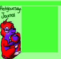 Redglovesilly journal skin v.2 by HalloweenBerry